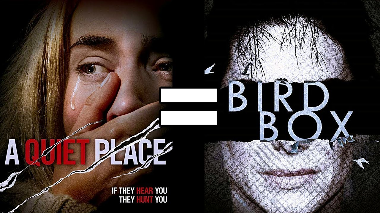 Image result for bird box vs a quiet place