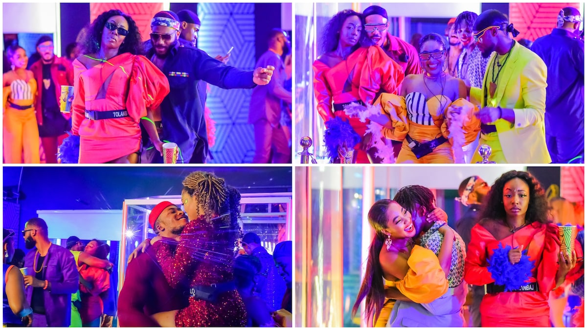 BBNaija 2020: Official Photos From Housemates' Second Saturday Party