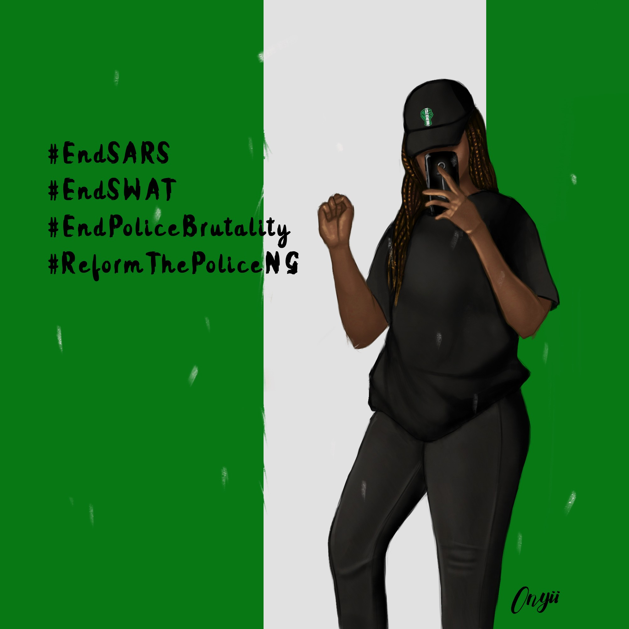 end sars protest muttering minds
