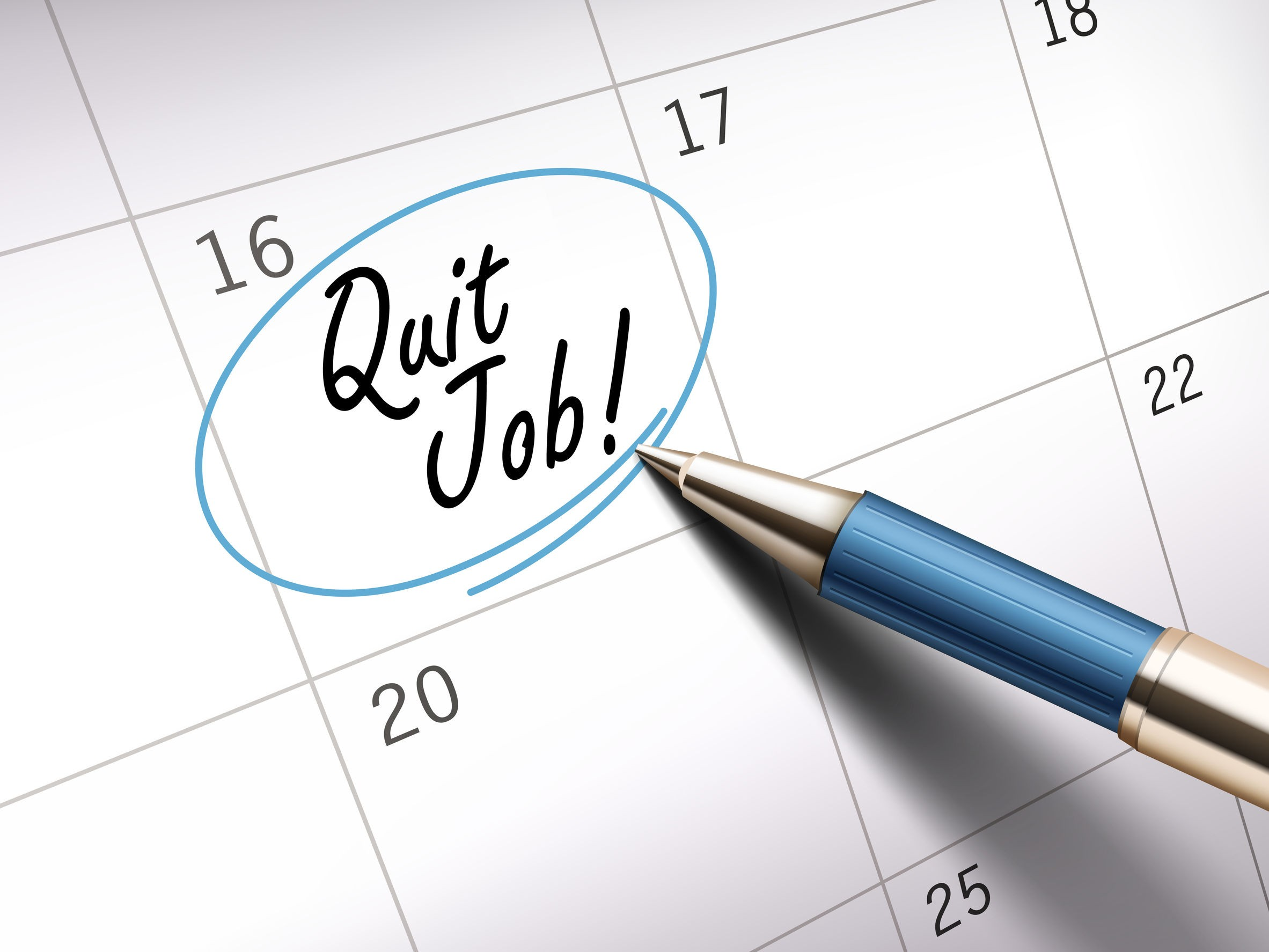 Don't Rush To Quit Your tormenting Job